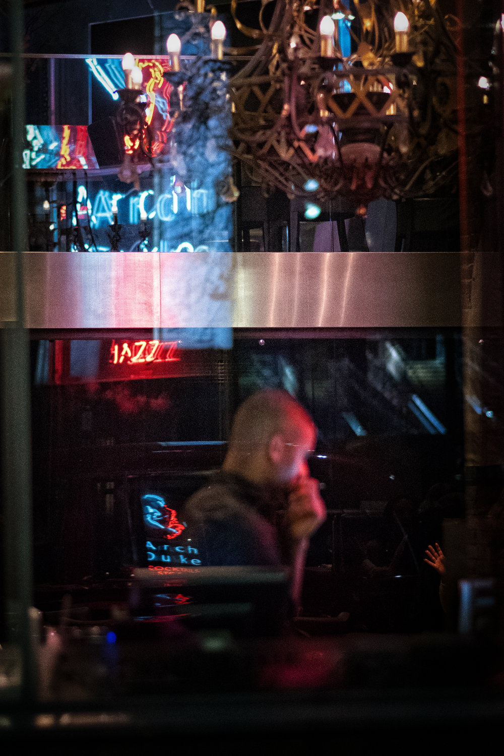 Jazz and Cocktails. London, Jan 2018.