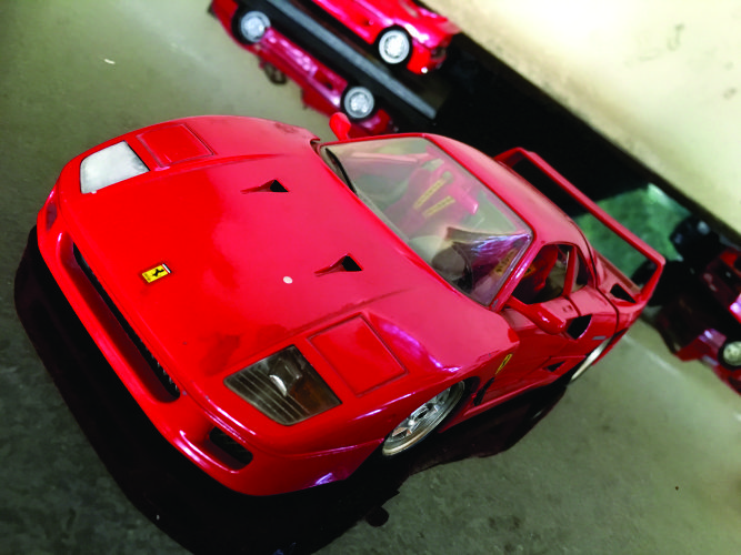 Ferrari F40 road car.