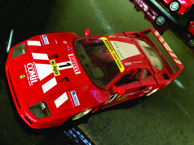 Ferrari F40 race car.