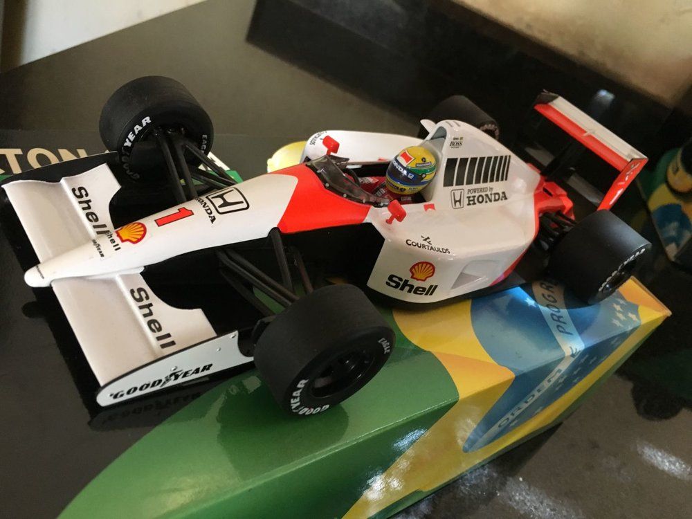 McLaren Honda MP4-6 – Ayrton Senna 1991 (scale 1:18)