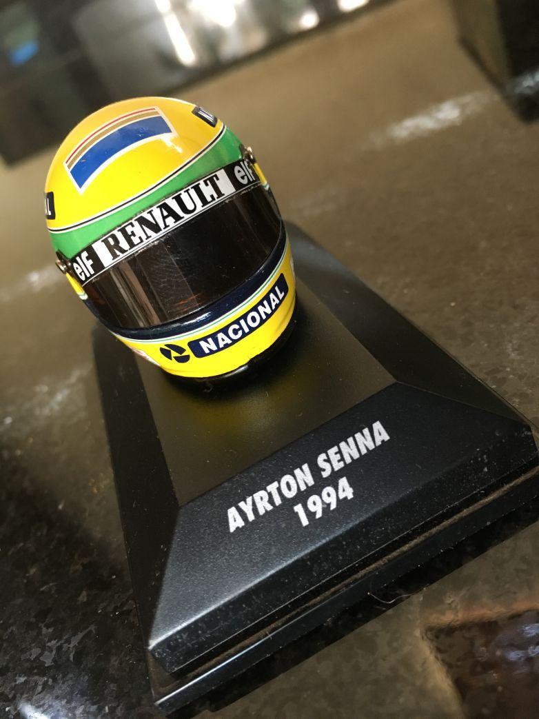 Ayrton Senna Mini Helmet