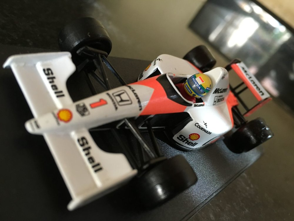 McLaren MP4/6 Honda (scale 1:43)