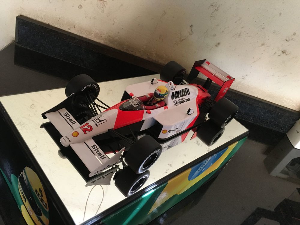 Minichamps 1/12th scale Very Rare 1988 Mclaren Honda MP4/4