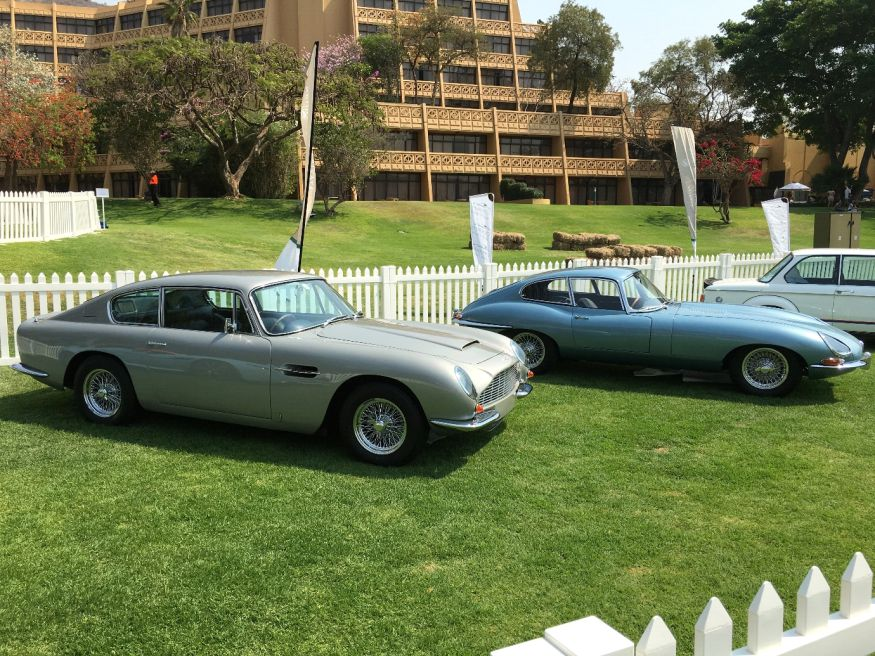 Two Exquisite British Examples: Aston Martin DB6 and E-TYPE Jaguar Series 1
