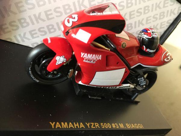 Yamaha YZFR 500 Max Biaggi model number : RAB017