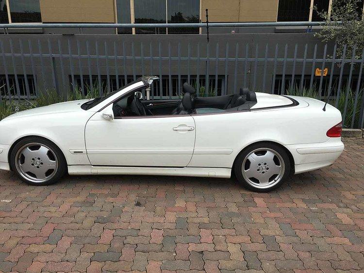 2001 mercedes clk320 convertible