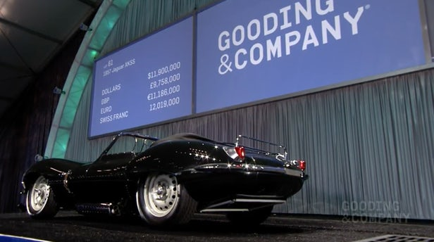 "One of just 16 built, plus nine ""continuation models"", the car was expected to sell for between $13,000,000 and $16,000,000, but apparently missed reserve by just $100,000. 