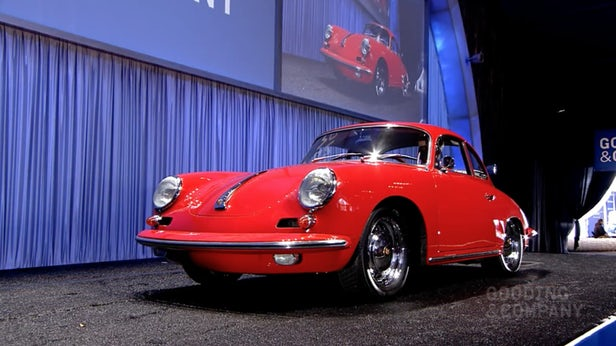 This 1964 Porsche 356 Carrera 2 Coupe is one of just over 100 356 C Series Carrera 2s produced. It sold for $517,000 | Porsche 911 prices have been rising over the last five years and the market for the 356 is now beginning to follow the 911 upwards. This was the highest priced 356 of over 20 which crossed the black in Amelia Island |  Official Auction Page(Credit:Gooding & Co)