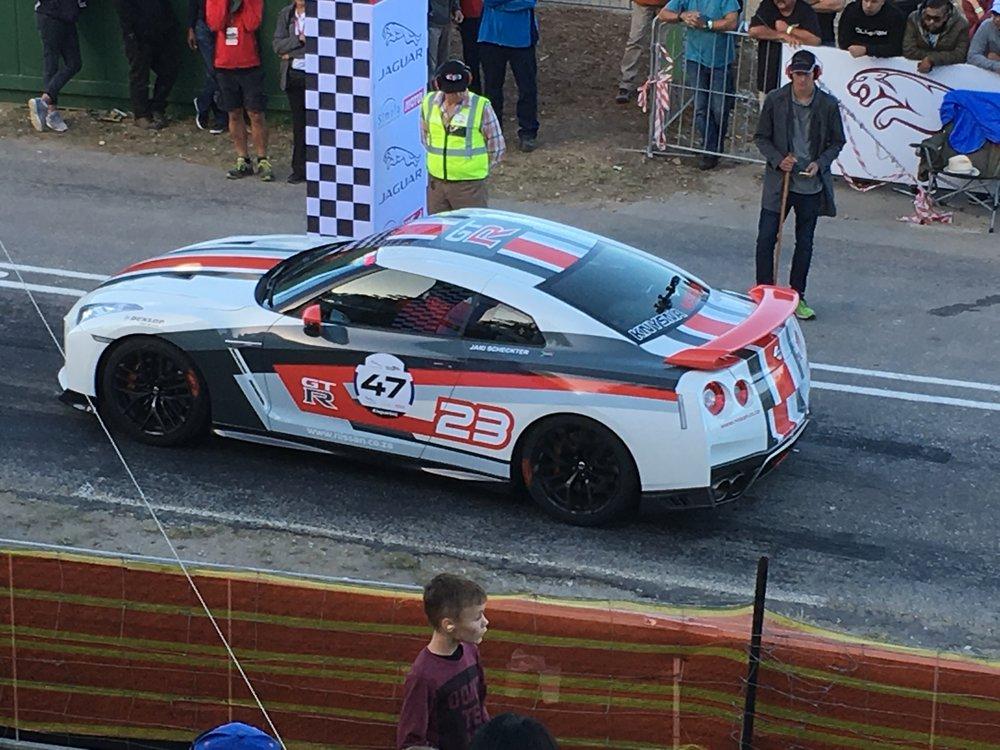 Nissan GTR R35 : Jaki Sheckter