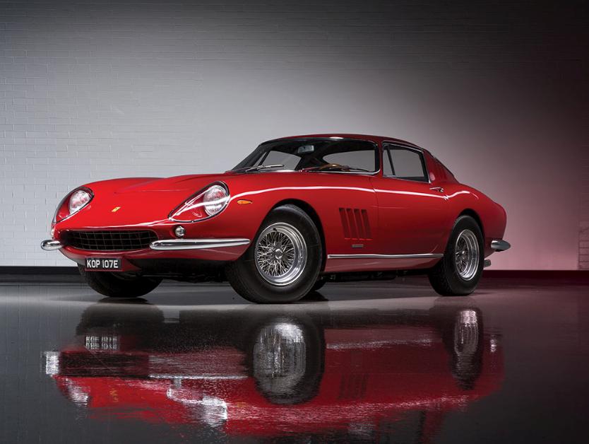 1967 Ferrari 275 GTB:4 by Scaglietti