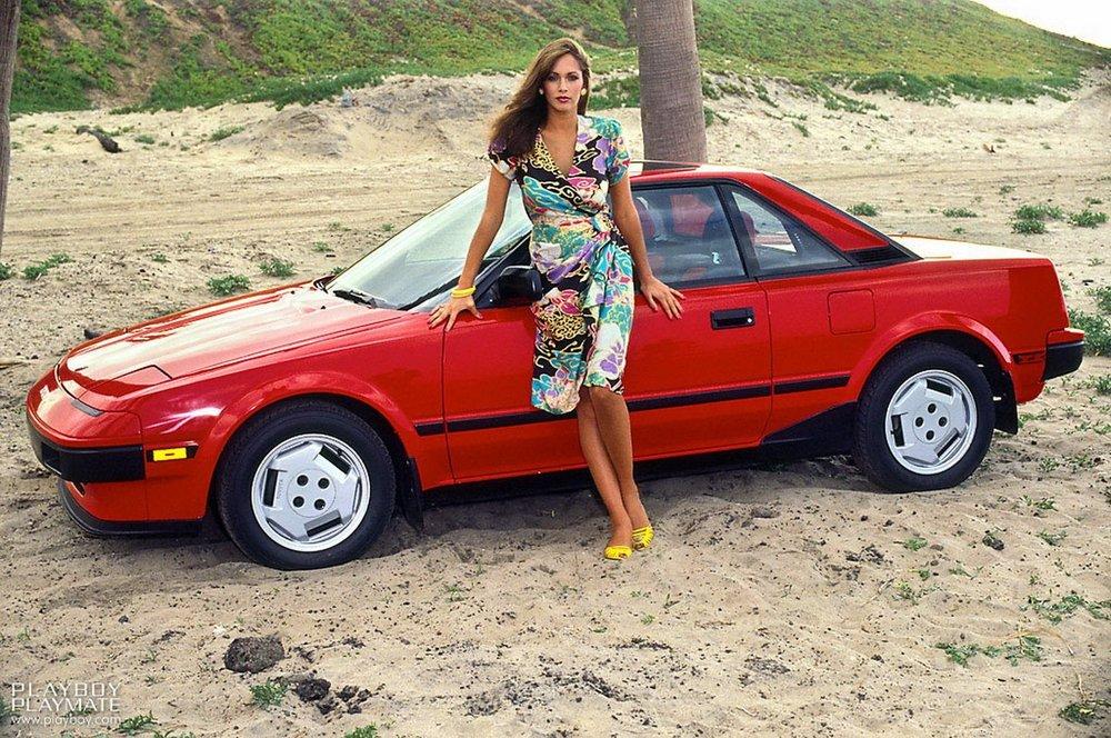 1985 Playboy Playmate of the Year Karen Velez