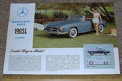 Sales Brochure 190SL