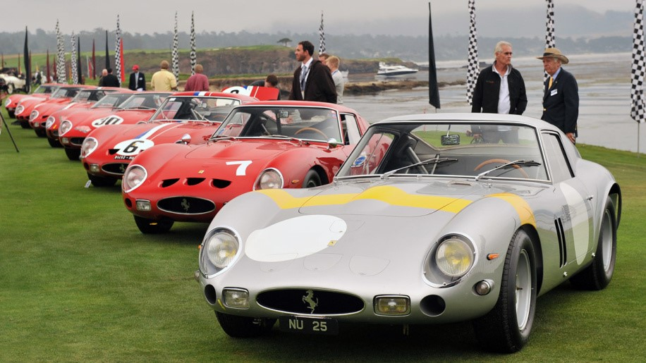 The 250 GTO is known as the Holy Grail model for its looks, rarity and smoothness on the road.