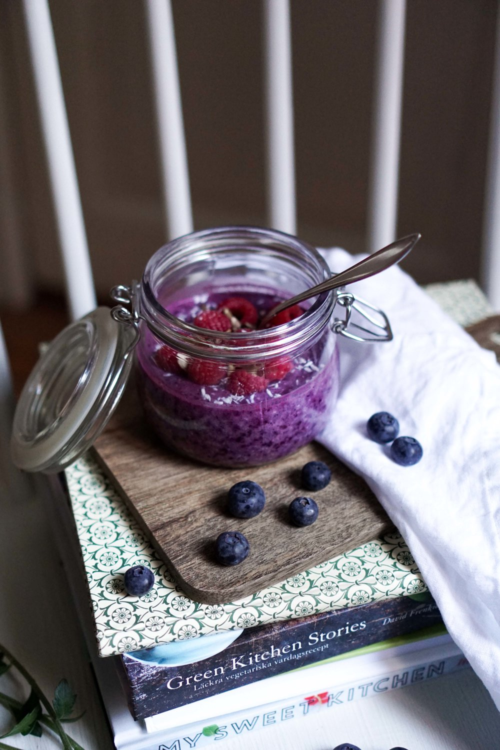 Green Kitchen Stories Cookbook Blueberry Overnight Oats And An Update On Life Cake And Beans