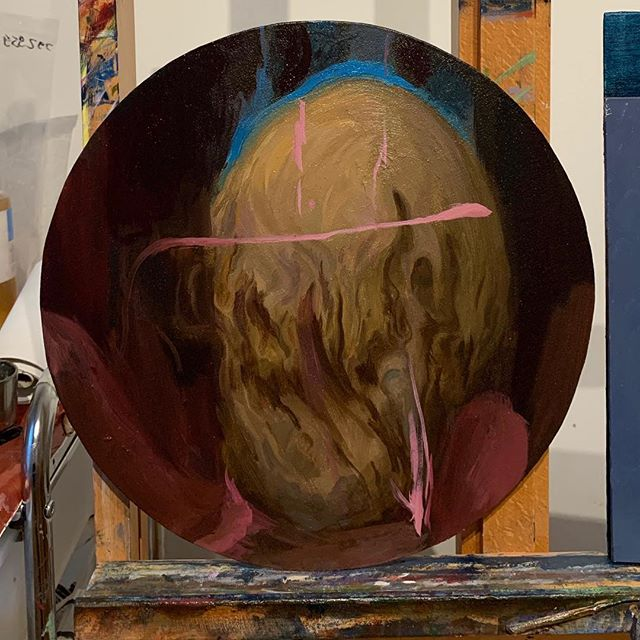 #oilpainting #inventedheads #art #contemporarypainting