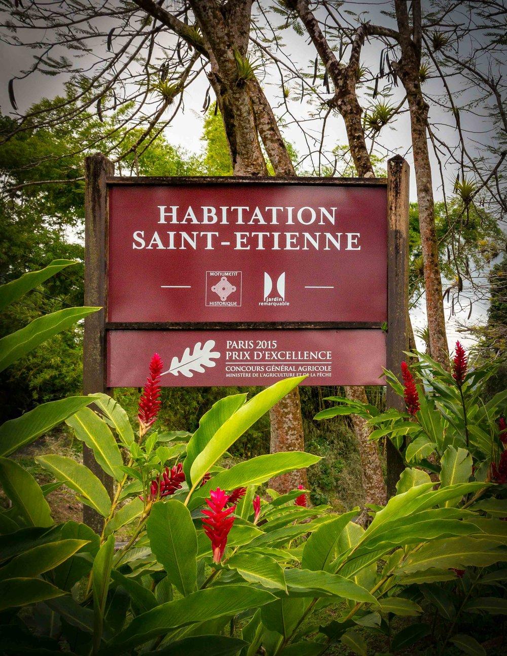 Martinique, Habitation Saint-Etienne, HSE