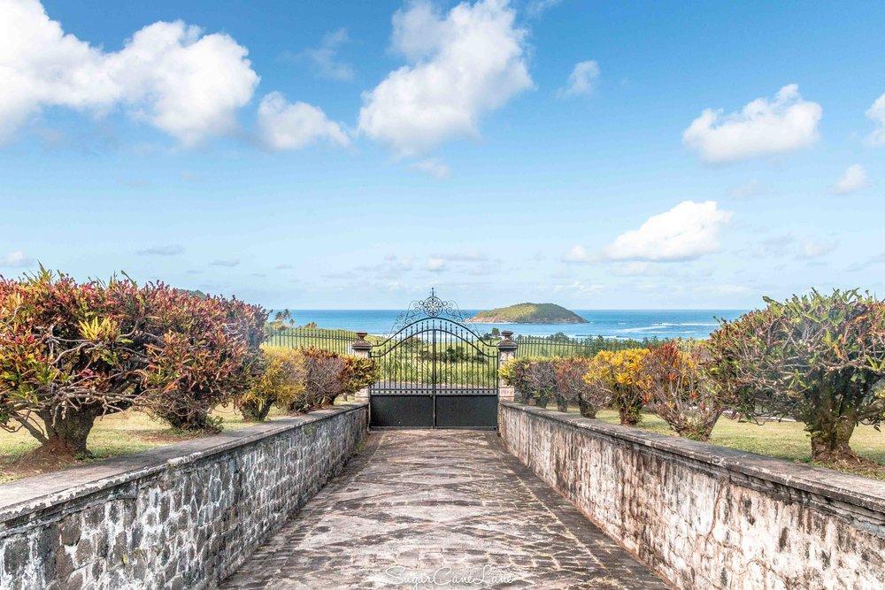 A view of l'Îlet Saint-Aubin
