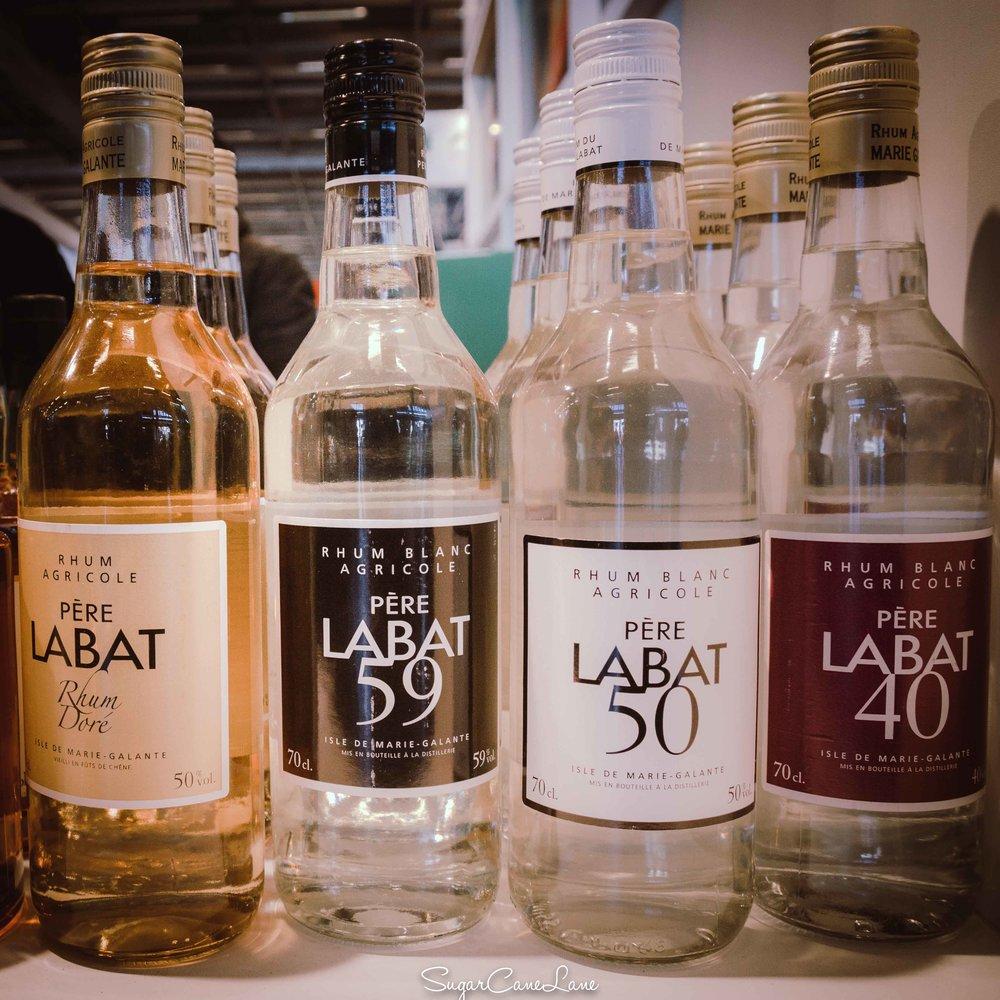 C'est en hommage au Père Labat que la  distillerie Poisson à Marie-Galante  a nommé son rhum qu'elle produit depuis plus de 100 ans
