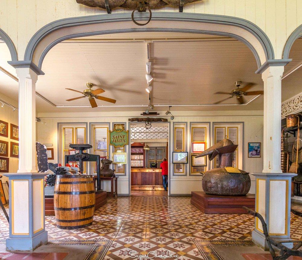 martinique, musee du rhum saint-james