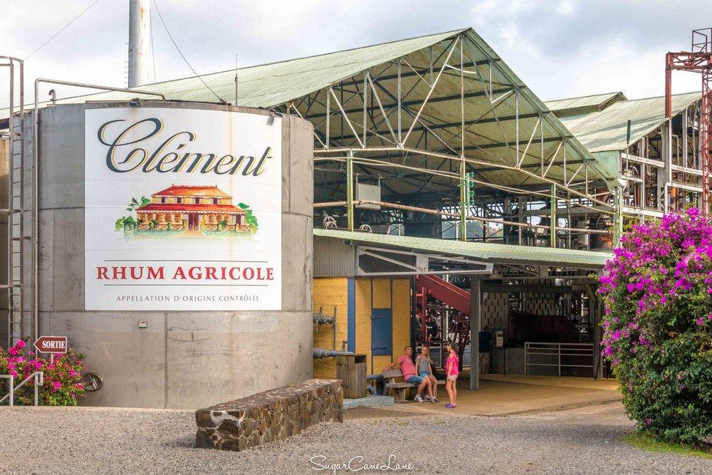 Habitation Clément, Martinique : la distillerie
