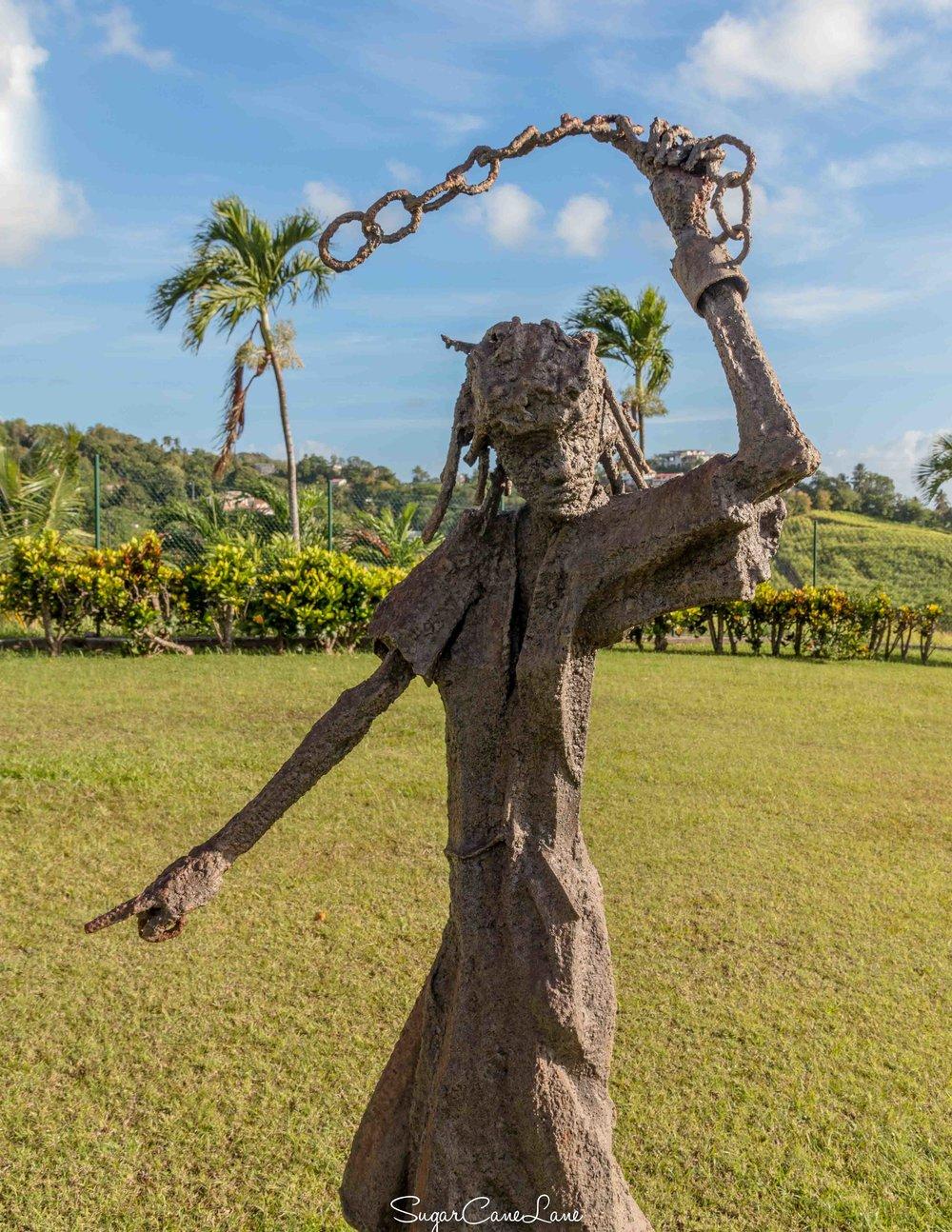 Sculpture réalisée par  Khokho Corail