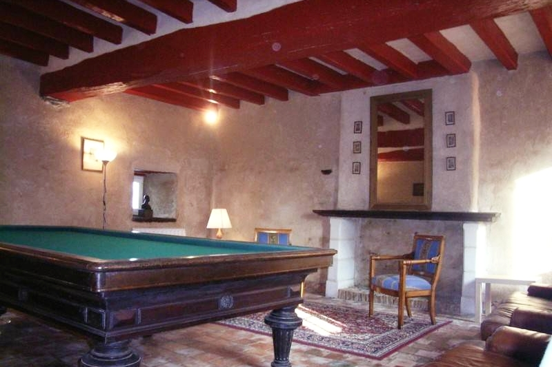Manoir de Beauregard - billard