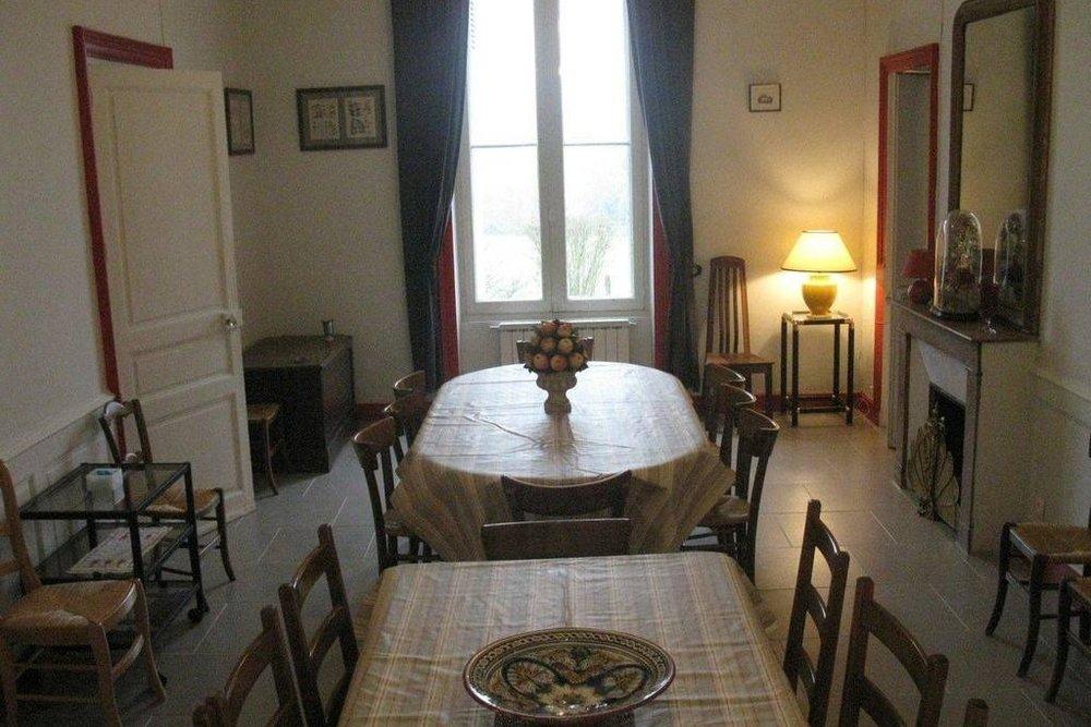 gite touraine Manoir des Badinons salle a manger