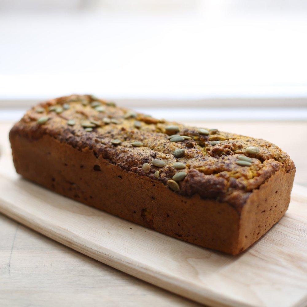 HGC Paleo Pumpkin Bread