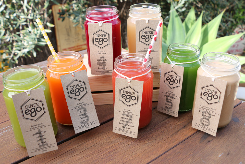 Inner Ego Cold Pressed Juices