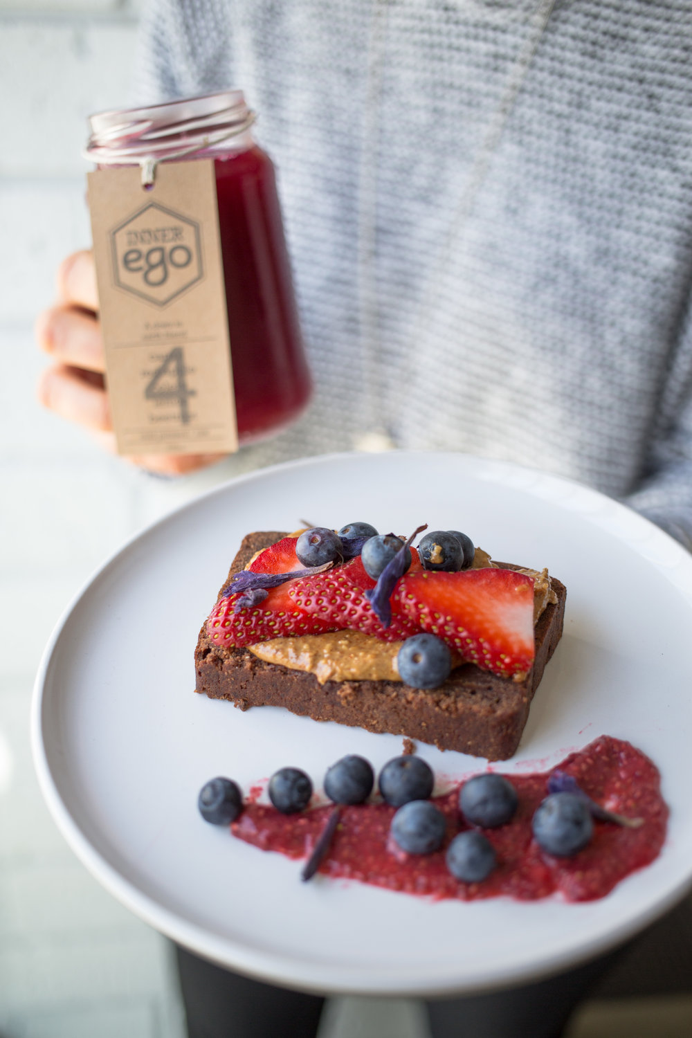 Juice + Food: HGC Vegan Peanut Butter Cacao Bread paired with Juice #4