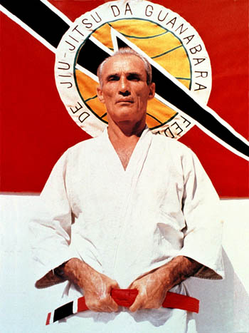 Helio Gracie - Helio Gracie was a 9th degree red belt and arguably the most important figure in Brazilian Jiu Jitsu's history. One of the first Gracie Jiu Jitsu representatives in the 1930's and 1940's he was also the father and master of many fighters who carried the name of his family's trade to martial arts' mainstream in the early 1990's, competitors such as Royler, Rickson or Royce Gracie. His lineage and legacy are among the strongest in Jiu Jitsu and he is regarded as one of the fathers of the Brazilian grappling art.Click HERE for more on Helio Gracie
