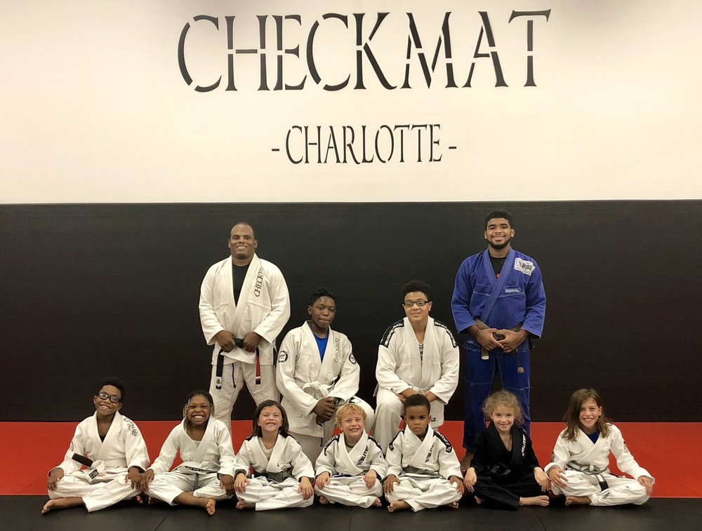 BJJ classes for ages 4 and up!