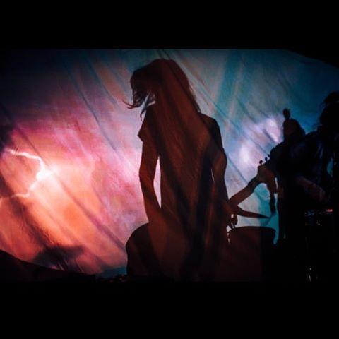 Photo by Liam Cameron. #fait #silhouettes #planbsmallclub #sydney #sonder