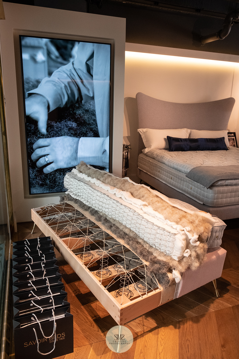 'Savoir Beds' for the perfect nights sleep, sheer luxury