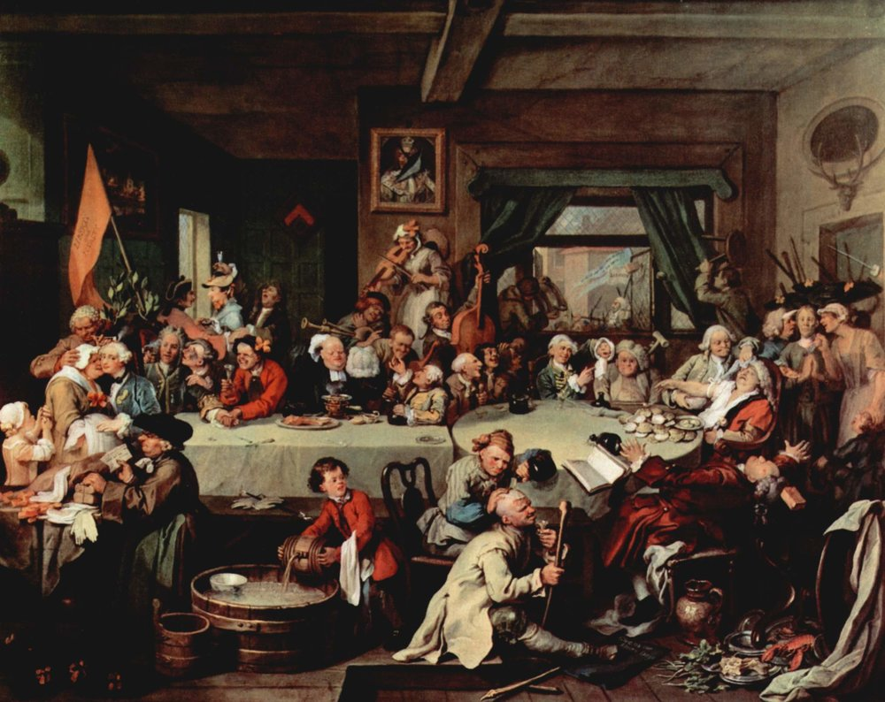 William Hogarth's Humours of an Election, 1755