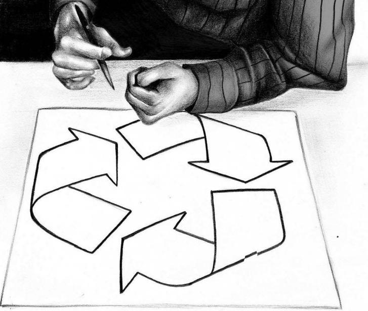 The Recycling Symbol Alaricstephen