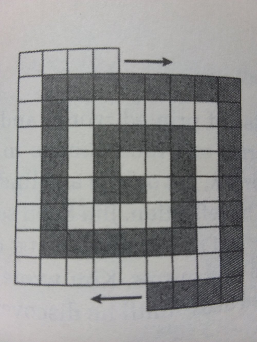 Picture from The Colossal Book of mathematics by Martin Gardner