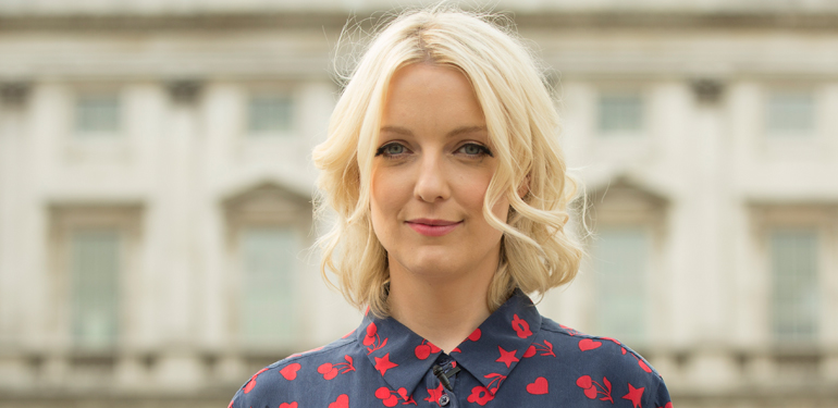 172617ff Along with regular duties presenting her week day show on BBC Radio 6 Music,  Lauren Laverne has been busy this festival season.
