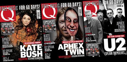 Q340 Kate Bush, Aphex Twin & U2 - Three remarkable comebacks! Three