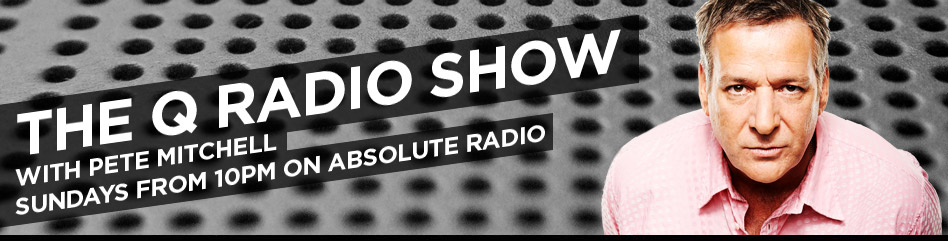 Tune in to The Q Show on Absolute Radio this Sunday at 10pm (21 Sept