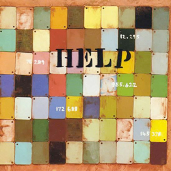 John Squire's artwork for HELP