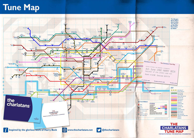 charlatans-tube-map