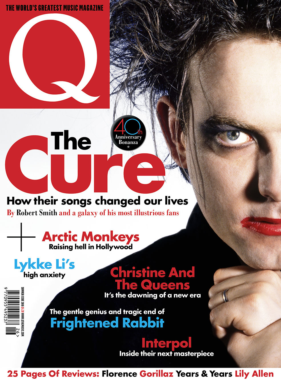 Celebrating The Cure's 40th anniversary in the new issue