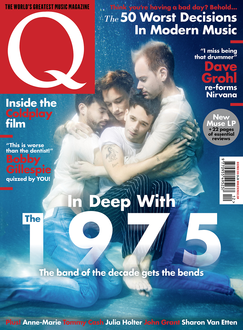 The 1975 Are On The Cover Of The New Issue!