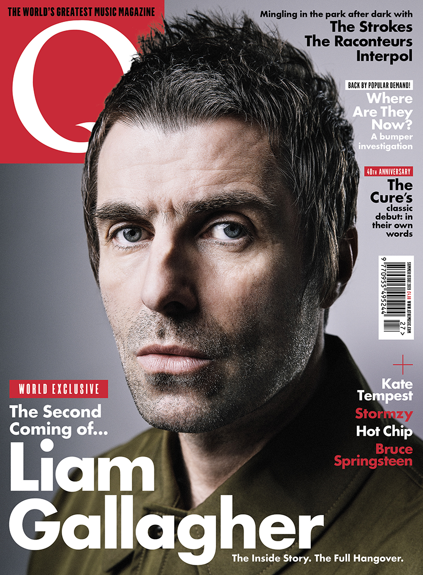 Liam Gallagher Is On The Cover Of New Issue Out Tuesday 4 June Heavyweight Champion Rock Interviews Takes Ted Kessler For 12