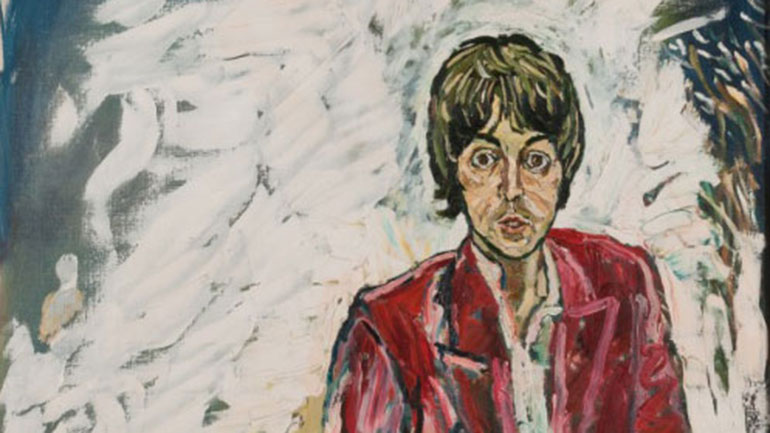 1967 Paul McCartney Portraits Star In John Bratby Retrospective