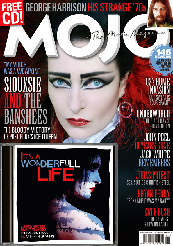 Siouxsie Sioux, cover star of MOJO 252, available in the UK from September 30.