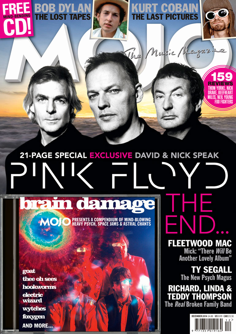 MOJO 253, the Pink Floyd issue, available in the UK from Tuesday, October 28.