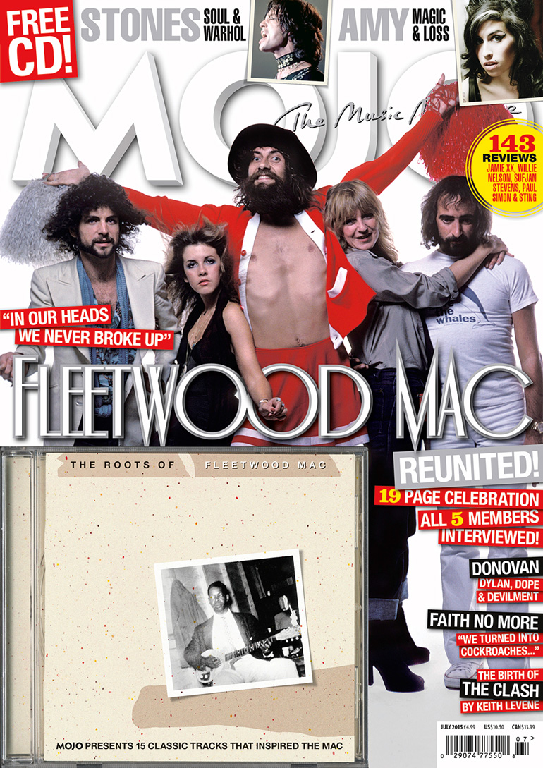 A classic shot of Fleetwood Mac on the cover of MOJO 260, on sale in the UK from Tuesday, May 26.