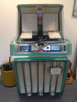 Amy's AMI J-200 jukebox